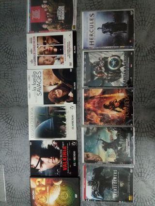 11 películas para DVD