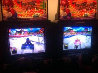 Double borne Nintendo Mario Kart GP2