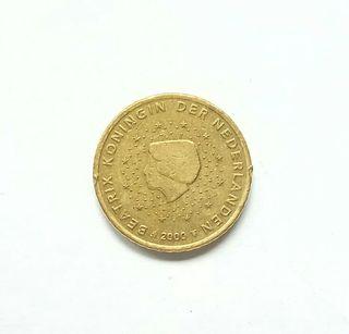 moneda de cincuenta céntimos de euro