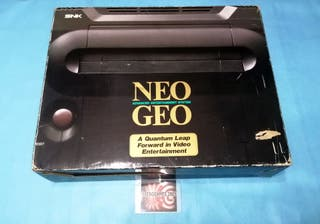 NEO GEO AES ONLY BOX NO INCLUDE CONSOLE NEOGEO..