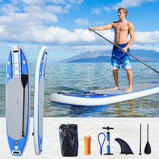Tabla de Paddle Surf Hinchable con Remo Ajustable