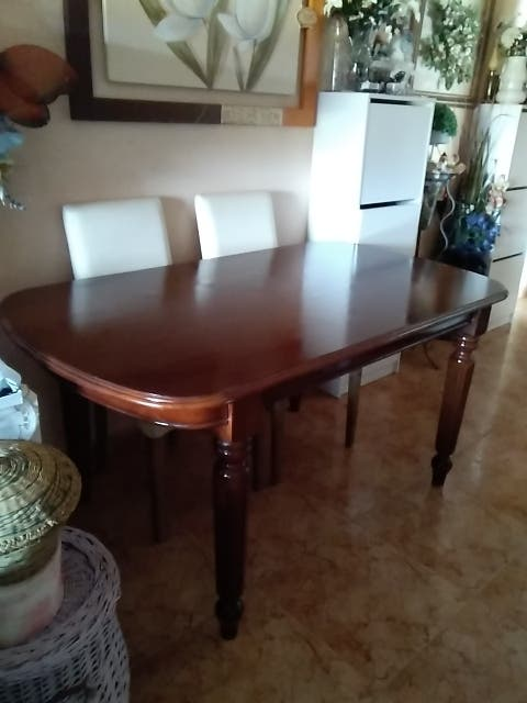 Mesa madera de haya salón