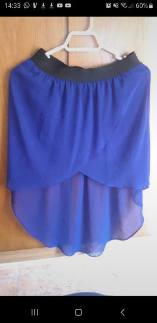 falda gasa