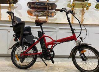 Biciceta electrica plegable 9 transport