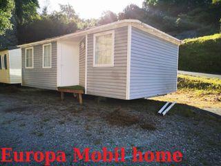 Oferta casa movil 7,7x4m tejado 4 aguas muy bonito