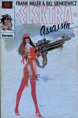 Elektra Assassin 1-4