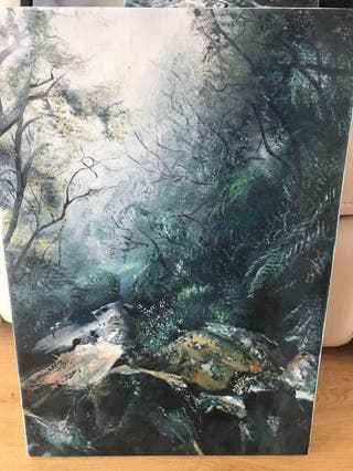 Forest painting