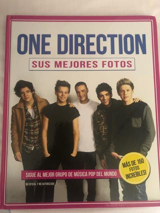 Libro fotografías One Direction