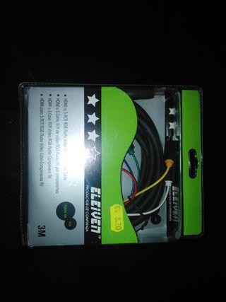 CABLE HD I A RCA-RGB nuevo a estrenar
