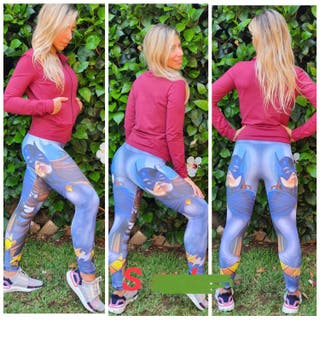 Leggings PUSH UP malla Batman talla S