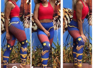 Leggin PUSH UP malla WONDER WOMAN talla M