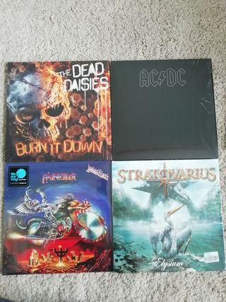 vinilos hard heavy metal