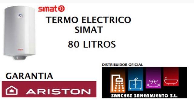 Termo eléctrico Aristón 80 litros