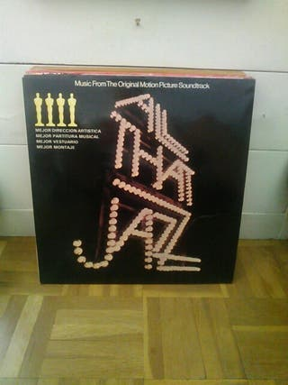 Disco vinilo banda sonora All that Jazz.
