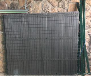 Conjunto panel metálico valla