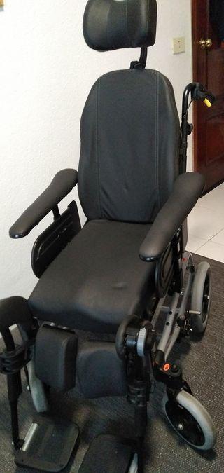 Silla de ruedas ortopédica reclinable