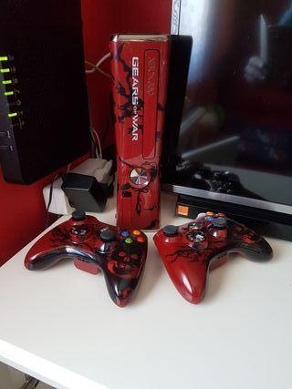 Consolas Xbox 360+44 juegos.