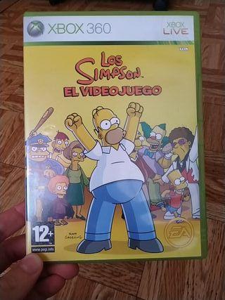 Los Simpson El Videojuego Xbox