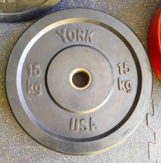 Disco Olímpico YORK 15 Kg