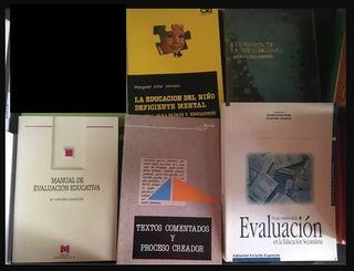 5 libros formación profesores Educación Secundaria