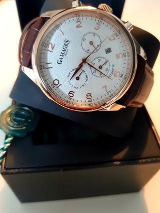 Reloj alta gama automatico, ed. limitada Gamages
