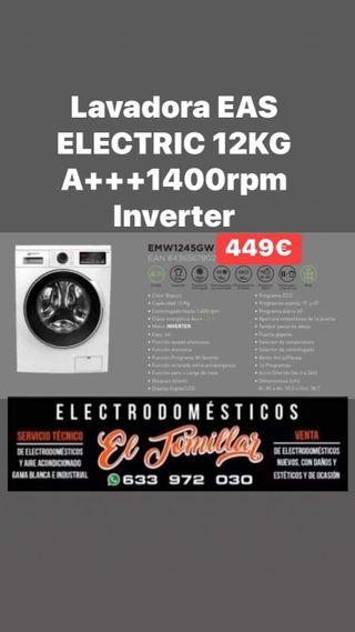 Lavadora Eas Electric 12kg