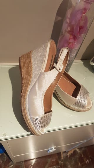 zapatos Cuña post-boda ,39.