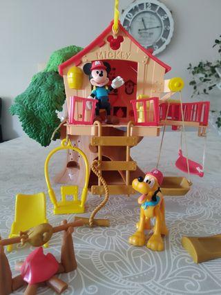 Casa del árbol Mickey Mouse