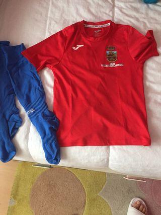 Camiseta Torrejón Calzada roja