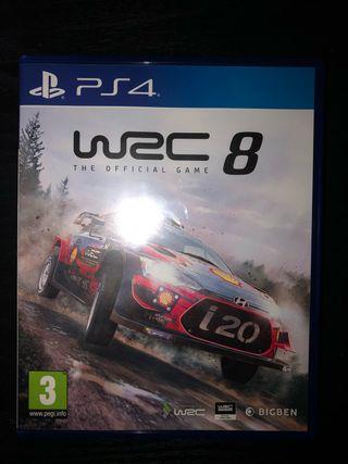 WRC8 NUEVO