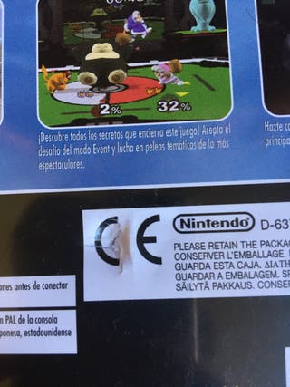 Super Smash Bros Melee - Juego Nintendo Gamecube