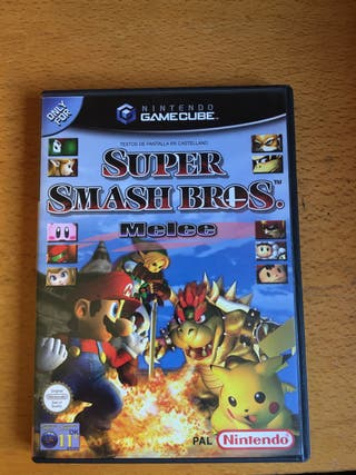 Super Smash Bros Melee - Juego Nintendo Gamecube