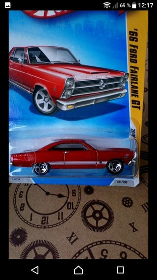 '66 Ford Fairlane GT. Hot wheels