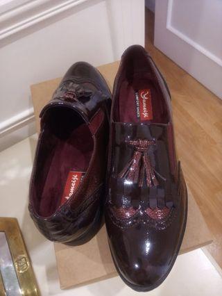 Zapatos 41 mujer burdeos