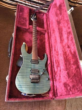 Guitarra ibanez rg 3120tw prestige