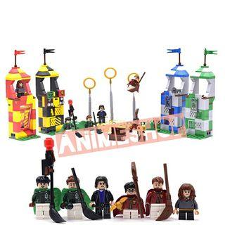 PISTA QUIDDITCH HARRY POTTER COMPATIBLE LEGO