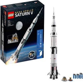 LEGO Ideas-NASA: Apolo Saturno V (21309)
