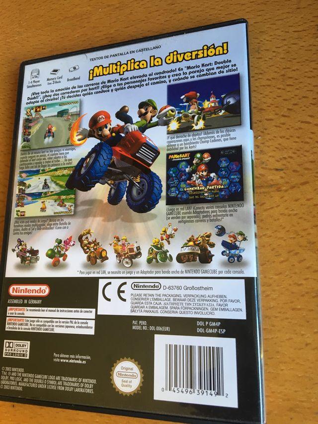 Mario Kart Double Dash - Juego Nintendo Gamecube