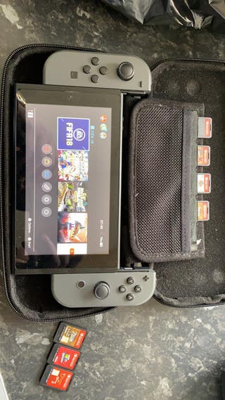Nintendo switch limited edition gray