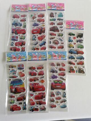 Pegatinas Cars infantiles