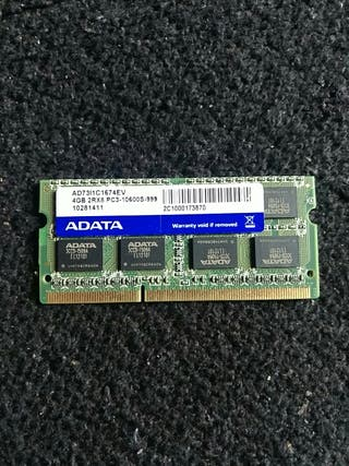 Memoria RAM 4 GB ADATA