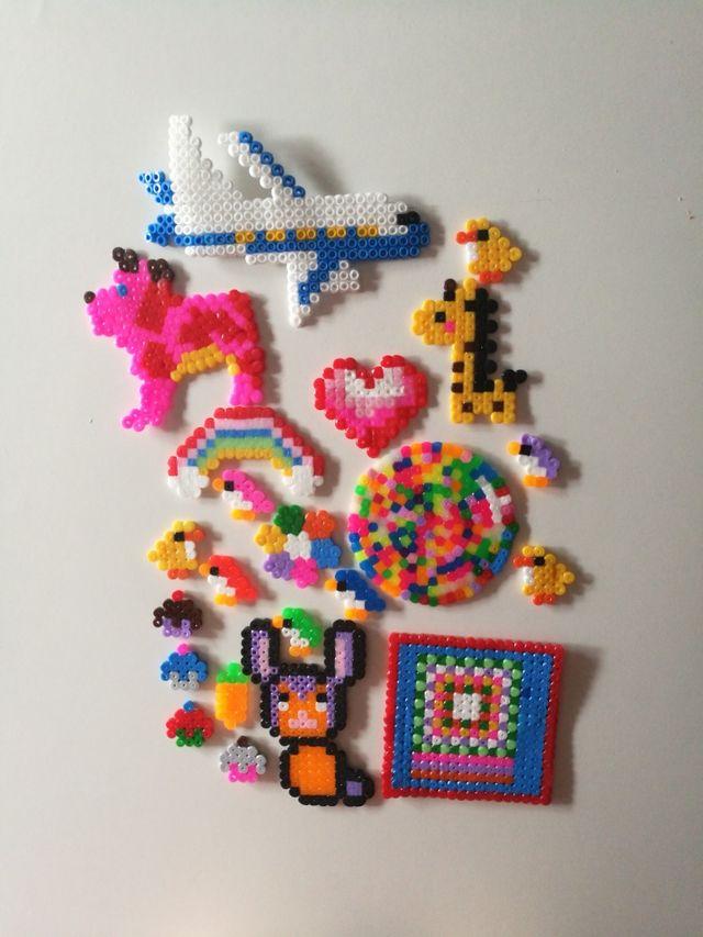 Figuras Hama Beads De Segunda Mano Por 1 En Samano En Wallapop Hama universe is available via the app store and google play. figuras hama beads de segunda mano por