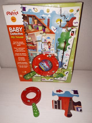 Puzzle baby detective my house