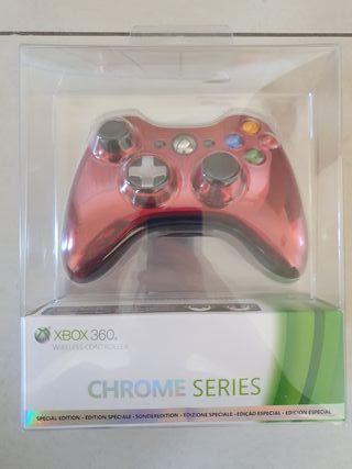 Mando Xbox 360 Edición Especial Chrome Series