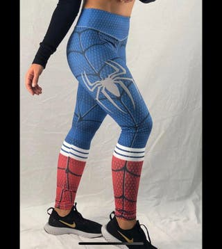 Leggin PUSH UP malla SPIDERMAN talla L