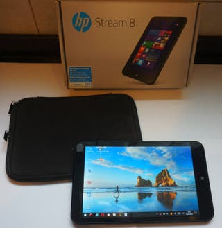 TABLET HP Stream 8 Windows 10, 3G+ y funda