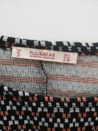 Vestido mini Pull&Bear talla S