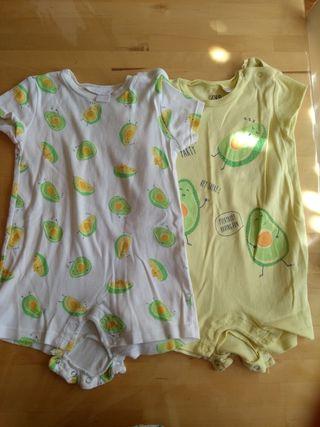 pack 2 pijamas verano algodón
