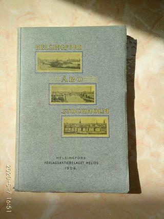 Libro de atlas. Stockholm Suecia 1906