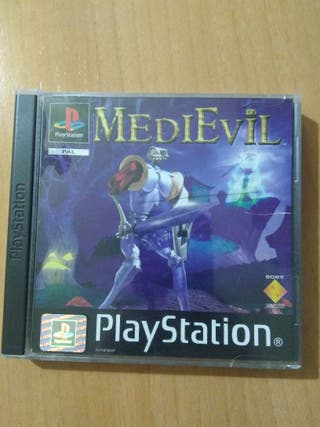 Medievil play station ps1